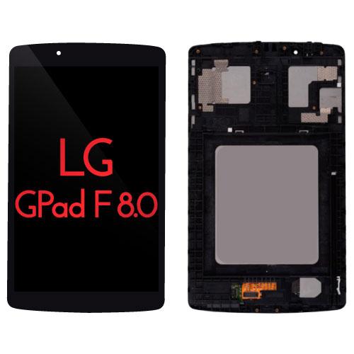 "New For 8/"" Black LG G Pad F 8.0 V495 V496 LCD Display Touch Digitizer Assembly"
